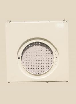 洗衣机前封门无铆钉连接