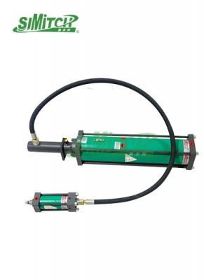 分整体式气液增力缸